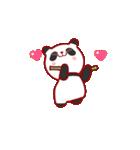 """かわいいパンダ """"PUPU""""。(個別スタンプ:03)"""
