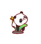 """かわいいパンダ """"PUPU""""。(個別スタンプ:05)"""