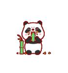 """かわいいパンダ """"PUPU""""。(個別スタンプ:06)"""