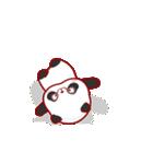 """かわいいパンダ """"PUPU""""。(個別スタンプ:07)"""