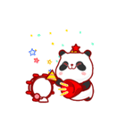 """かわいいパンダ """"PUPU""""。(個別スタンプ:08)"""