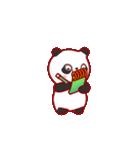 """かわいいパンダ """"PUPU""""。(個別スタンプ:10)"""