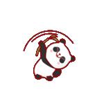 """かわいいパンダ """"PUPU""""。(個別スタンプ:11)"""
