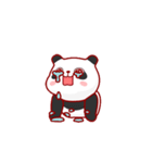 """かわいいパンダ """"PUPU""""。(個別スタンプ:12)"""