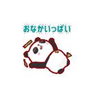 """かわいいパンダ """"PUPU""""。(個別スタンプ:13)"""