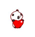 """かわいいパンダ """"PUPU""""。(個別スタンプ:14)"""
