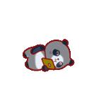 """かわいいパンダ """"PUPU""""。(個別スタンプ:16)"""