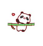 """かわいいパンダ """"PUPU""""。(個別スタンプ:17)"""