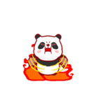 """かわいいパンダ """"PUPU""""。(個別スタンプ:18)"""