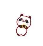 """かわいいパンダ """"PUPU""""。(個別スタンプ:21)"""