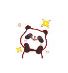 """かわいいパンダ """"PUPU""""。(個別スタンプ:22)"""