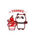 """かわいいパンダ """"PUPU""""。(個別スタンプ:24)"""