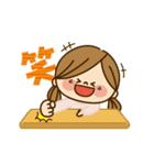 動く!かわいい主婦の1日【冬編2】(個別スタンプ:15)