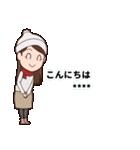【冬】季節のカスタムスタンプ(個別スタンプ:10)