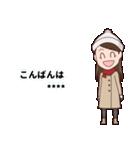 【冬】季節のカスタムスタンプ(個別スタンプ:11)