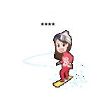 【冬】季節のカスタムスタンプ(個別スタンプ:24)