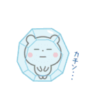 ゆるっとカワイイ☆ちびくまさん【冬】(個別スタンプ:16)