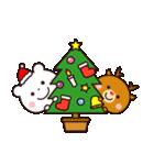 ゆるっとカワイイ☆ちびくまさん【冬】(個別スタンプ:35)