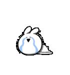 すこぶる動くクレイジーウサギ6(個別スタンプ:3)