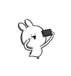 すこぶる動くクレイジーウサギ6(個別スタンプ:20)