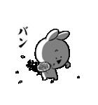 すこぶる動くクレイジーウサギ6(個別スタンプ:22)