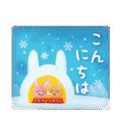 水彩えほん【冬編】<12月1月2月>(個別スタンプ:03)