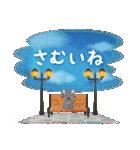 水彩えほん【冬編】<12月1月2月>(個別スタンプ:13)