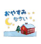 水彩えほん【冬編】<12月1月2月>(個別スタンプ:39)