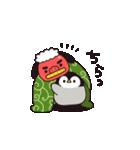 【復刻】心くばりペンギン 年賀&年末年始(個別スタンプ:20)