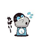 【復刻】心くばりペンギン 年賀&年末年始(個別スタンプ:21)