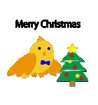 幸せを呼ぶ鳥の冬生活(個別スタンプ:13)