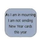 喪中いろいろ年末年始スタンプ(個別スタンプ:31)