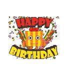 """動いて楽しい誕生日""""HAPPY BIRTHDAY""""(個別スタンプ:05)"""