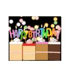"""動いて楽しい誕生日""""HAPPY BIRTHDAY""""(個別スタンプ:07)"""