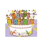 """動いて楽しい誕生日""""HAPPY BIRTHDAY""""(個別スタンプ:08)"""