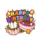 """動いて楽しい誕生日""""HAPPY BIRTHDAY""""(個別スタンプ:09)"""