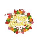 """動いて楽しい誕生日""""HAPPY BIRTHDAY""""(個別スタンプ:17)"""