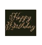 """動いて楽しい誕生日""""HAPPY BIRTHDAY""""(個別スタンプ:21)"""