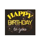 """動いて楽しい誕生日""""HAPPY BIRTHDAY""""(個別スタンプ:22)"""