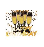 """動いて楽しい誕生日""""HAPPY BIRTHDAY""""(個別スタンプ:23)"""