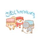 動く!冬❤️いやしばいぬ❤️5(個別スタンプ:06)