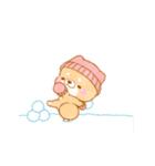 動く!冬❤️いやしばいぬ❤️5(個別スタンプ:15)