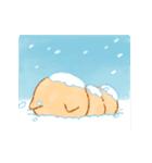 動く!冬❤️いやしばいぬ❤️5(個別スタンプ:16)