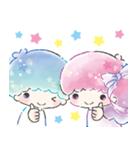 キキ&ララ 水彩タッチ♪(個別スタンプ:1)