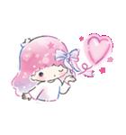 キキ&ララ 水彩タッチ♪(個別スタンプ:6)