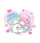 キキ&ララ 水彩タッチ♪(個別スタンプ:8)