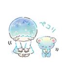 キキ&ララ 水彩タッチ♪(個別スタンプ:12)