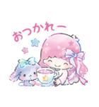 キキ&ララ 水彩タッチ♪(個別スタンプ:16)