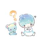 キキ&ララ 水彩タッチ♪(個別スタンプ:21)