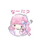 キキ&ララ 水彩タッチ♪(個別スタンプ:23)